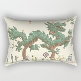 The Night Gardener - The Dragon Tree Rectangular Pillow