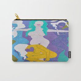 """Spectrums of Glitz"" Carry-All Pouch"