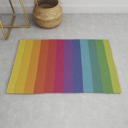 The Color Wheel / Rainbow Stripes Rug