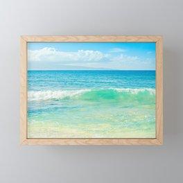 Ocean Blue Beach Dreams Framed Mini Art Print