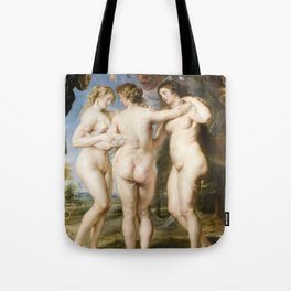 The Three Graces by Peter Paul Rubens, 1635 Tote Bag