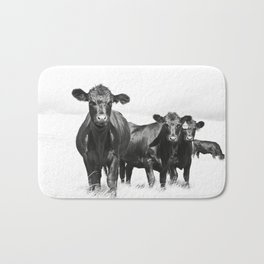 Cattle Country Photograph Bath Mat