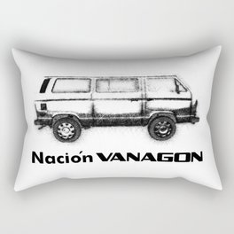 Nación Vanagon Rectangular Pillow