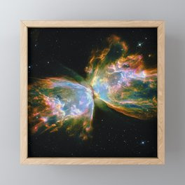 Butterfly Nebula Framed Mini Art Print
