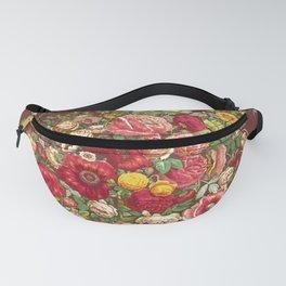 Vintage Floral Chinz Pattern Fanny Pack