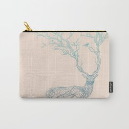 Blue Deer Carry-All Pouch
