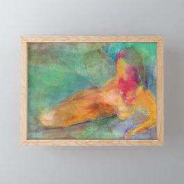 Body Impression Framed Mini Art Print