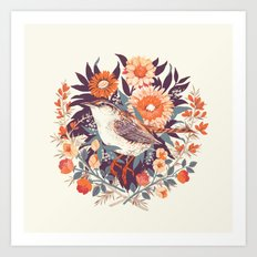 Wren Day Art Print