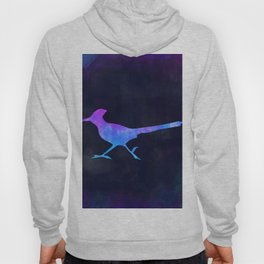 ROADRUNNER IN SPACE // Animal Graphic Art // Watercolor Canvas Painting // Modern Minimal Cute Hoody