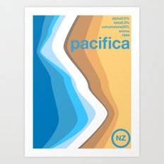 pacifica single hop Art Print