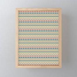 Ethnic ornament , 12 Framed Mini Art Print