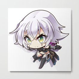 Fate/Grand Order Jack the Ripper Metal Print