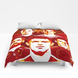 Russia football poster Comforters