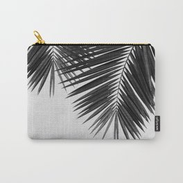 Palm Leaf Black & White II Carry-All Pouch