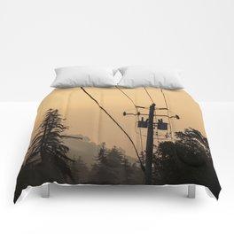 Yellow Mountain Haze Comforters