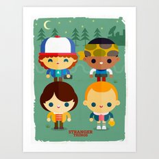 So stranger, with things Art Print