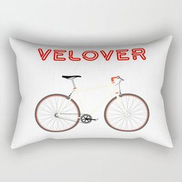 VeLover – Racer – June 12th – 200th Birthday of the Bicycle Rectangular Pillow