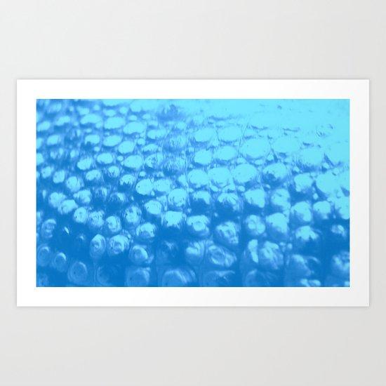 Croc Abstract VII Art Print