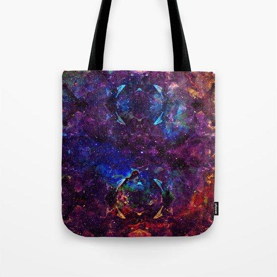 Rainbow Aura Quartz NebulÆ Tote Bag