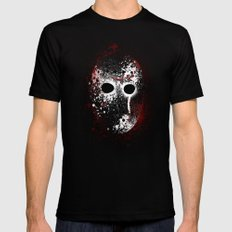 Happy Friday the 13th Black MEDIUM Mens Fitted Tee
