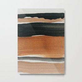 abstract minimal 12 Metal Print