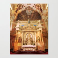 The Altar Canvas Print