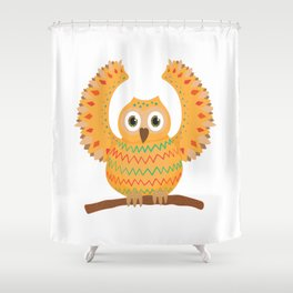 Owl-ly Molly Shower Curtain