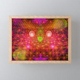 Universal Explosion Framed Mini Art Print