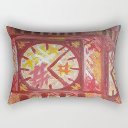 Big Ben by Lu Rectangular Pillow