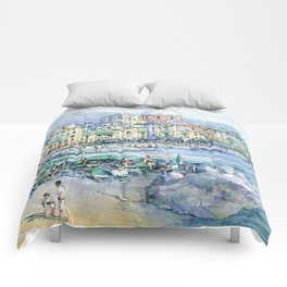 Pegli d'estate Comforters