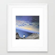 View On Earth Framed Art Print