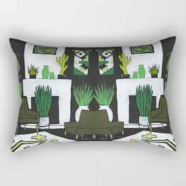 The Green Room Rectangular Pillow