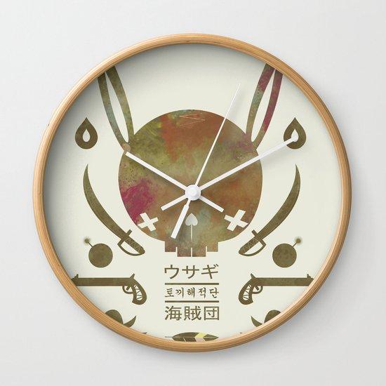 토끼해적단 TOKKI PIRATES Wall Clock