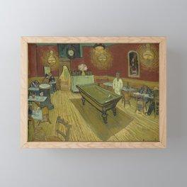 Vincent van Gogh The Night Cafe Framed Mini Art Print
