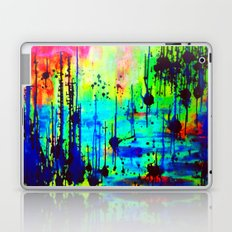Waterlily Cat tails Laptop & iPad Skin