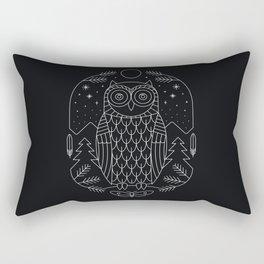 Night Life Rectangular Pillow
