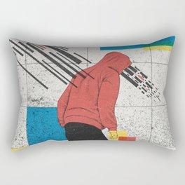 Discharge Rectangular Pillow