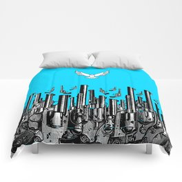 Peace of the Action BLUE / Peace concept Comforters