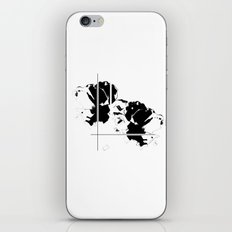 Graphic Floral iPhone & iPod Skin
