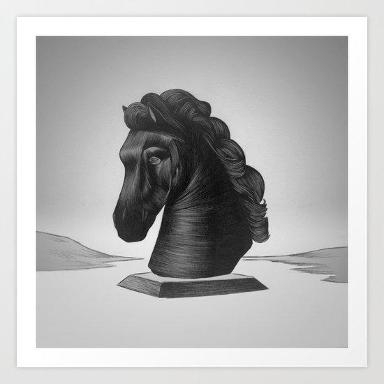 horse no.4 Art Print