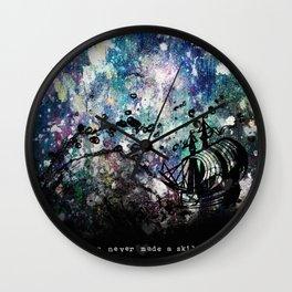 A Skilled Sailor Wall Clock