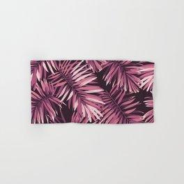 Rose palm leaves Hand & Bath Towel