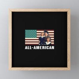 All-American Female Workers Framed Mini Art Print