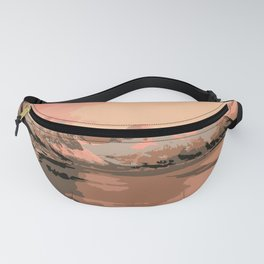 Beautiful Mountains Nature Landscape Fanny Pack
