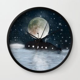 the astrologer Wall Clock