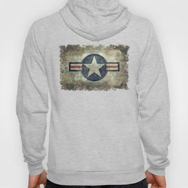 US Airforce style Roundel insignia V2 Hoody