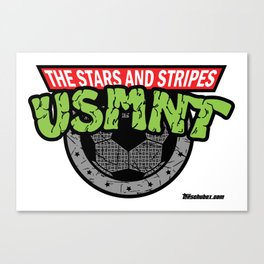 USMNT -- A FEARSOME SOCCER TEAM Canvas Print