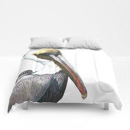 Pelican Portrait Comforters