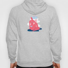 Yoga Girls 3 Lady of the Fishes Pose Hoody