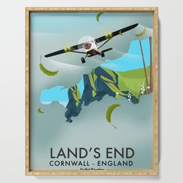 Land's End Cornwall Serving Tray